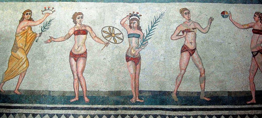 mujeres en roma antigua